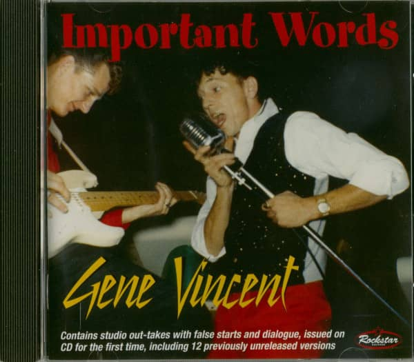 Important Words (CD)