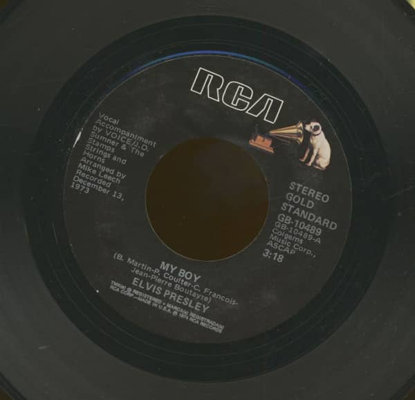 My Boy - Thinking About You (7inch, 45rpm)