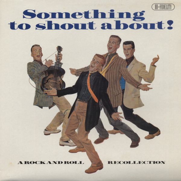 Something To Shout About - A Rock And Roll Recollection Vol.1 (LP)