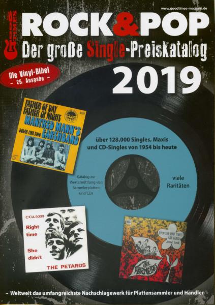 Der große Rock & Pop Single Preiskatalog 2019