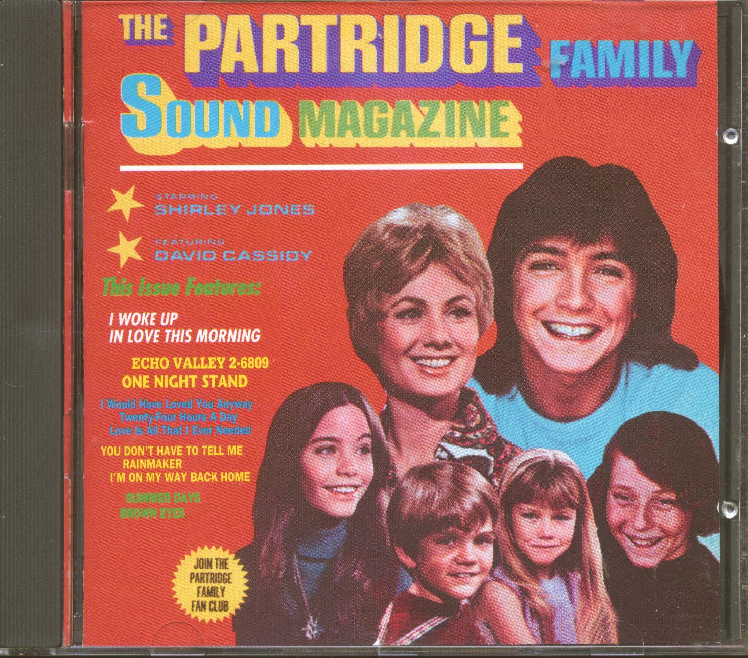 The Partridge Family Cd Sound Magazine Cd Bear Family