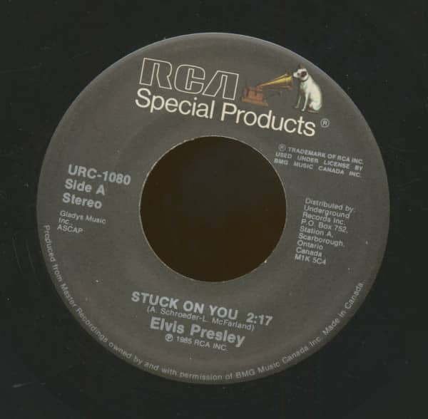 Stuck On You - Fame And Fortune (7inch, 45rpm)