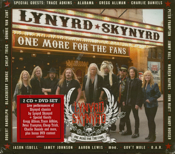 One More For The Fans (2-CD, 1-DVD)