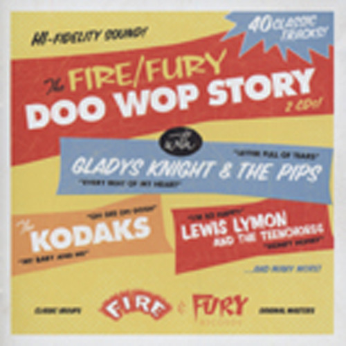 The Fire & Fury Doo Wop Story (2-CD)