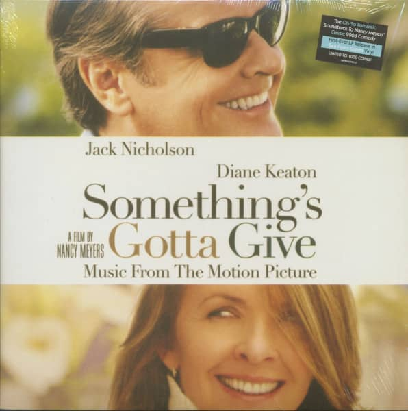 Something's Gotta Give - Original Motion Picture Soundtrack (LP, Sea Foam Green Vinyl, Ltd.)