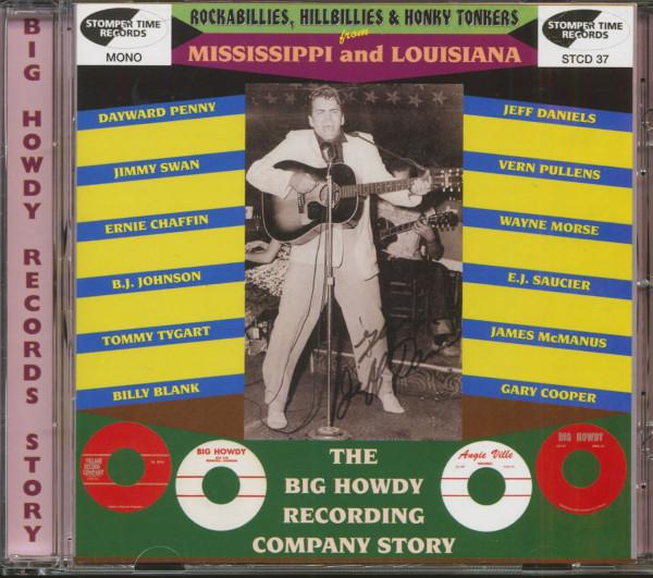 Rockabillies, Hillbillies & Honky Tonkers From Mississippi & Louisiana - Big Howdy Records Story (CD