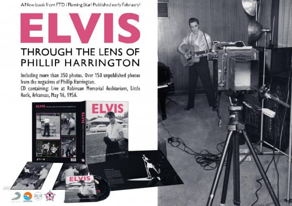 Through The Lens Of Phillip Harrington (Book+CD)