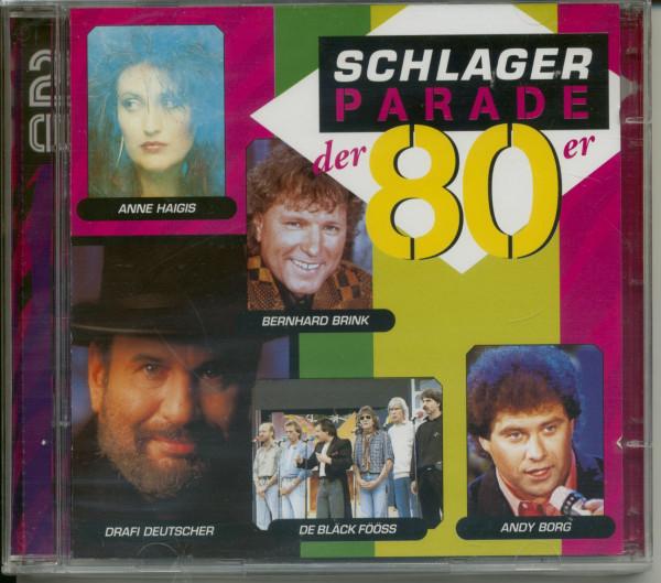 Schlagerparade der 80er (2-CD)
