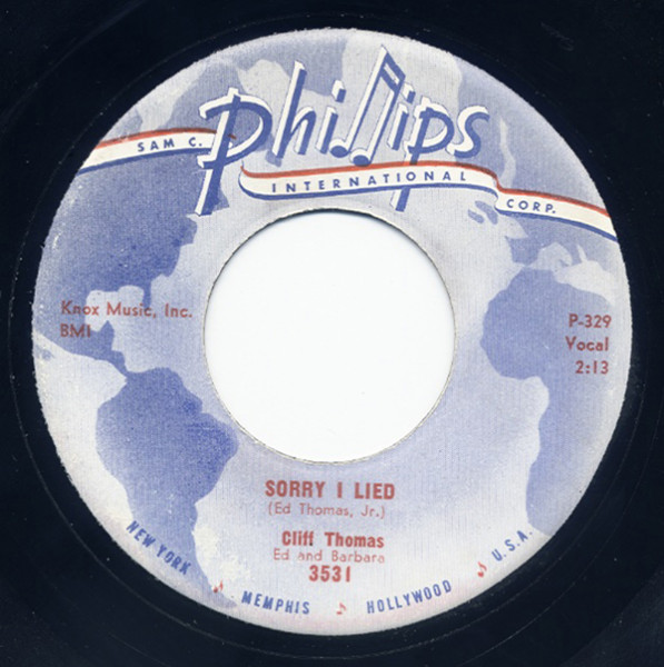 Sorry I Lied - Leave It To Me 7inch, 45rpm