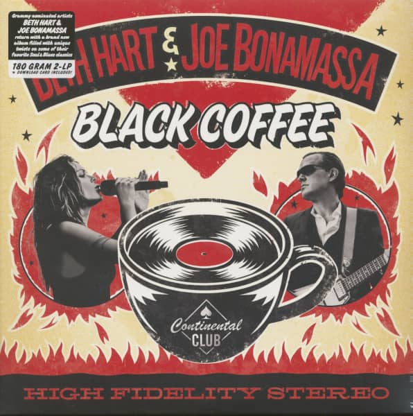 Beth Hart & Joe Bonamassa - Black Coffee (LP, 180g Vinyl)