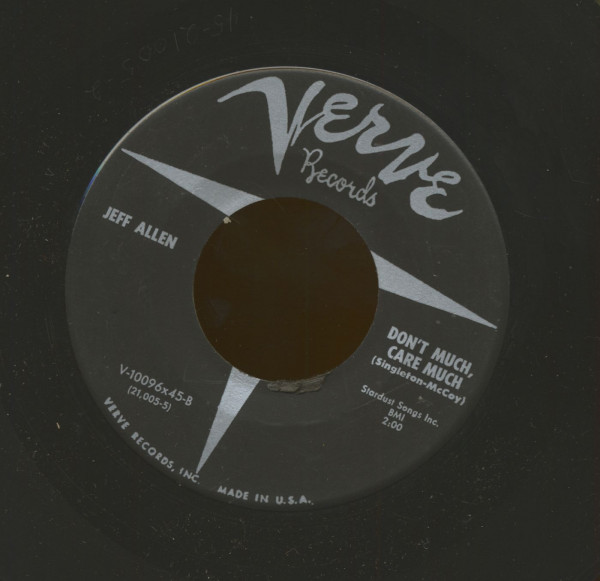 Don't Much, Care Much - Last Night (7inch, 45rpm)