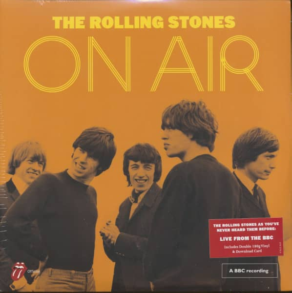 The Rolling Stones On Air (2-LP, 180g Vinyl)