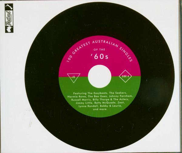 100 Greatest Australian Singles Of the 60s (4-CD)