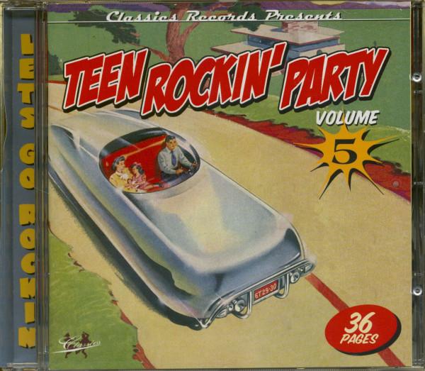 Teen Rockin' Party Vol.5 (CD)