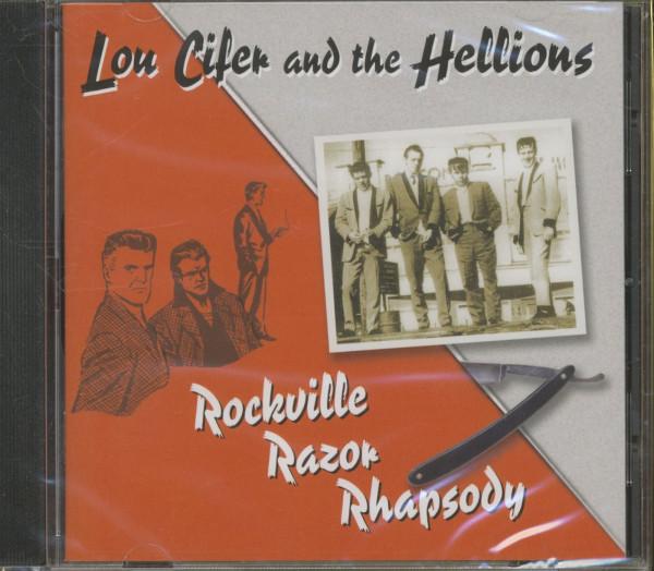 Lou Cifer Amp The Hellions Cd Rockville Razor Rhapsody Cd