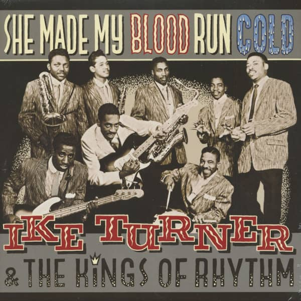 She Made My Blood Run Cold (LP)