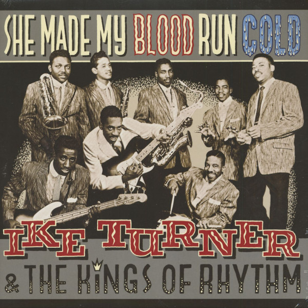 She Made My Blood Run Cold (LP)