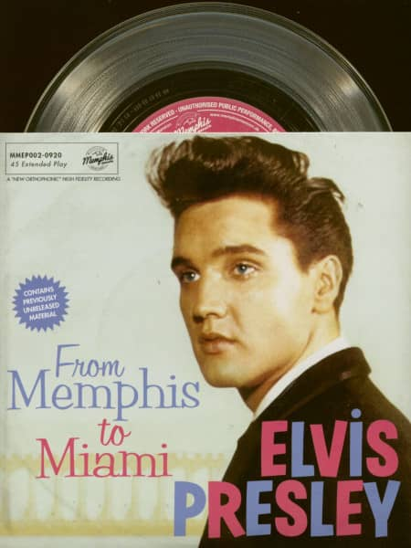 From Memphis To Miami (7inch, EP, PS, SC, Ltd.)