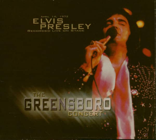 The Greensboro Concert (CD)