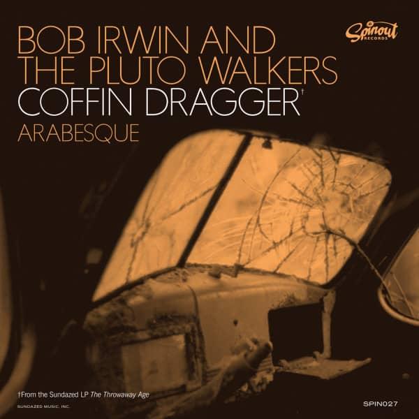 Coffin' Dragger b-w Arabesque 7inch, 45rpm, PS, colored