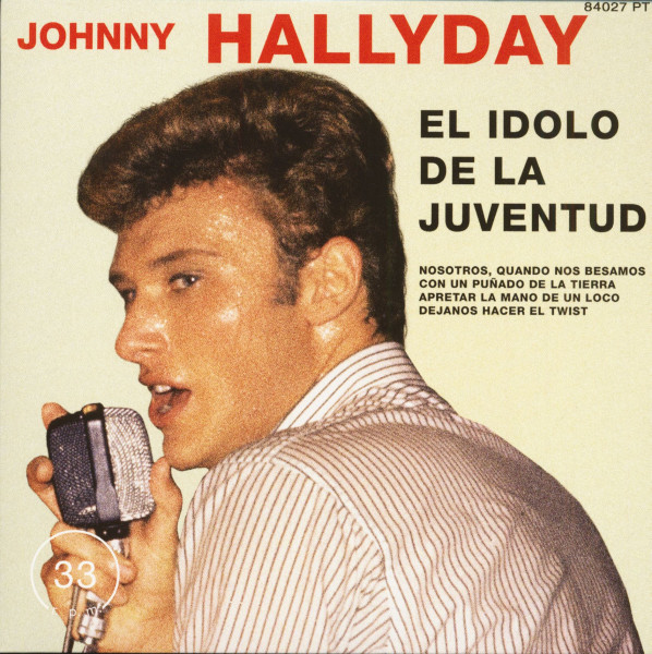 El Idolo De La Juventud (7inch, EP, 45rpm, PS, SC, Clear Vinyl, Ltd.)