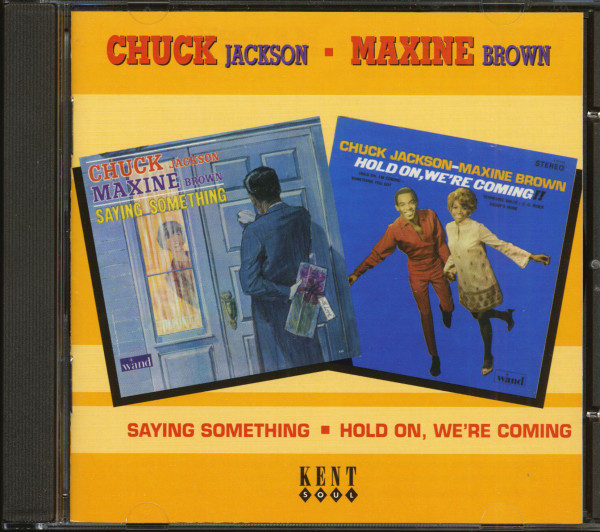 Saying Something - Hold On, We're Coming (CD)
