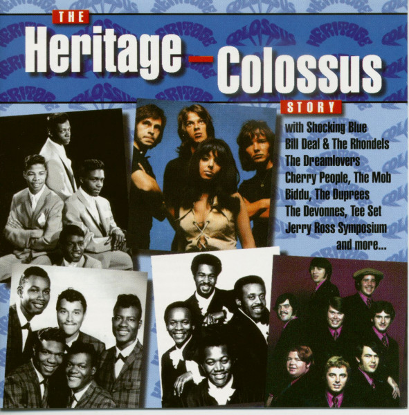 The Heritage-Colossus Story (CD)