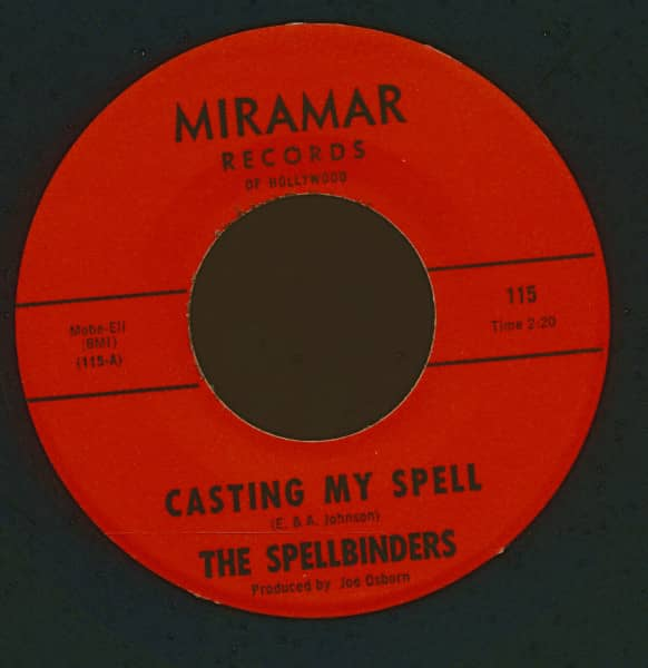 Casting My Spell - To Take A Heart (7inch, 45rpm)
