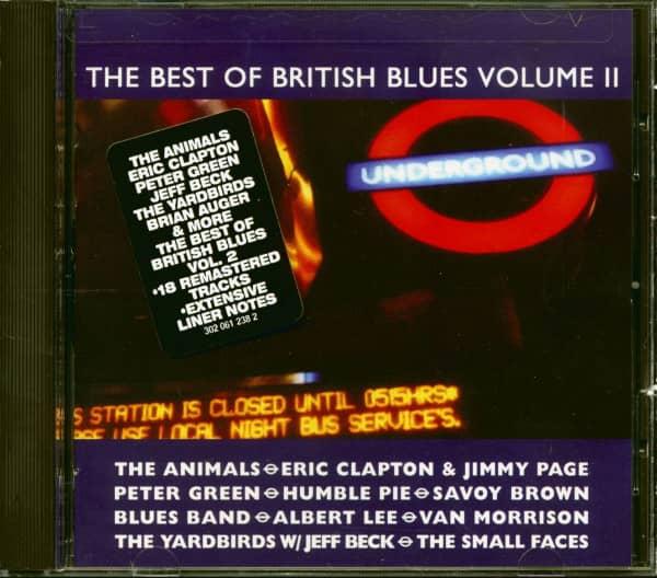 The Best Of British Blues, Vol.2 (CD)