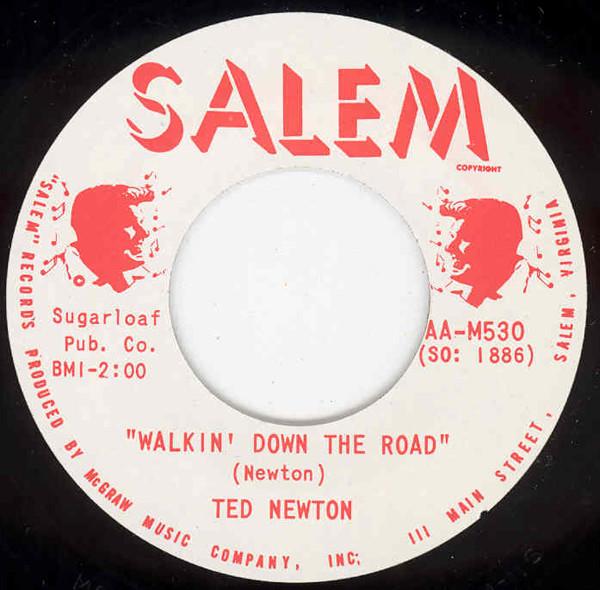 Walkin' Down The Road b-w Tennessee Rhythm 7inch, 45rpm