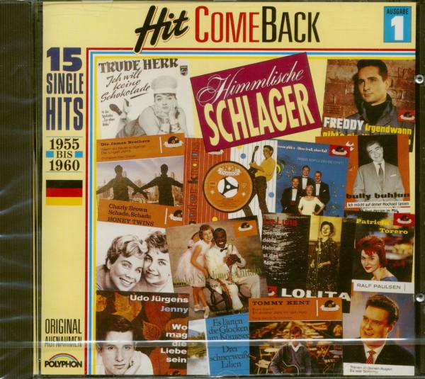 Hit Come Back - Himmlische Schlager Nr. 1 - 1955-1960 (CD)