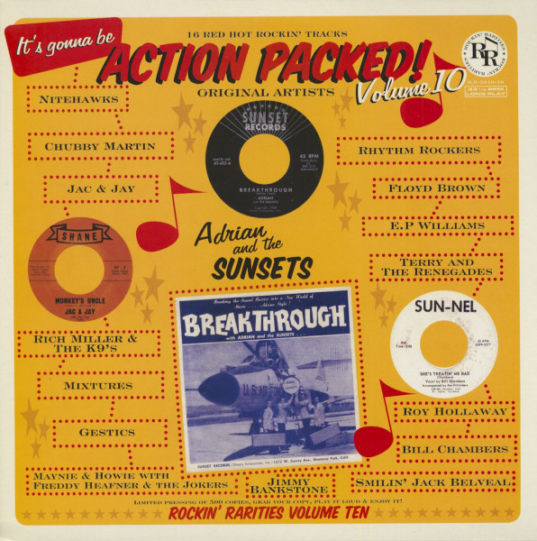 Action Packed! Vol.10 (LP)