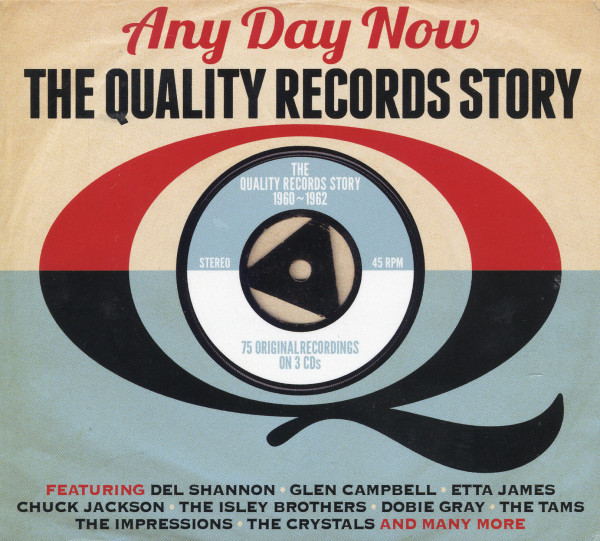 Any Day Now - The Quality Records Story (3-CD)