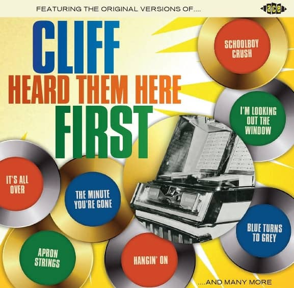 Cliff Heard Them Here First