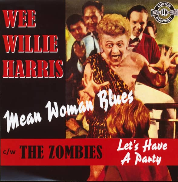 Wee Willie Harris - The Zombies (7inch, 45rpm, PS, SC)