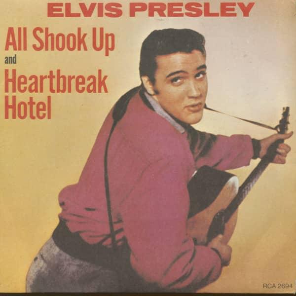 All Shook Up - Heartbreak Hotel (7inch, 45rpm, PS, sc)