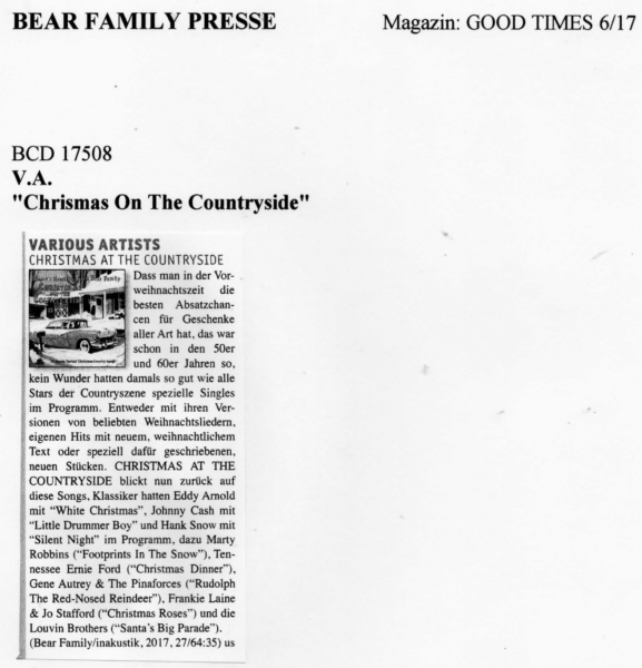 Presse-Various-Christmas-On-The-Countryside-Good-Times