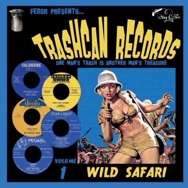 Trashcan Records Vol.1 - Wild Safari (LP, 10inch)
