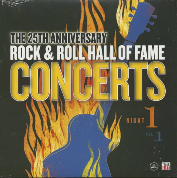 The 25th Anniversary Rock And Roll Hall Of Fame Concerts Vol.1 (LP)