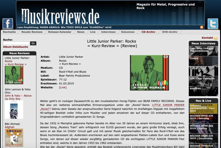 Press-Archive-Little-Junior-Parker-Rocks-musikreviews