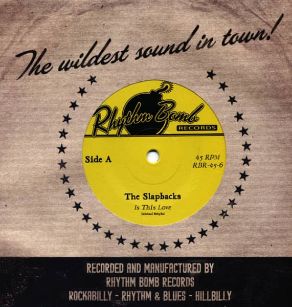 Is This Love - Man Eating Woman 7inch, 45rpm, SC