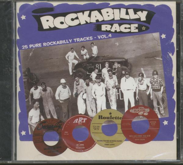 Vol.4, Rockabilly Race (CD)