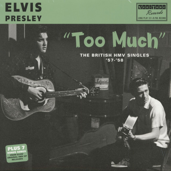 Too Much - The British HMV Singles '57-'58 (180g - Black Vinyl)