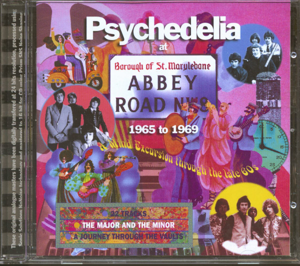 Psychedelia At Abbey Road - 1965-1969 (CD)