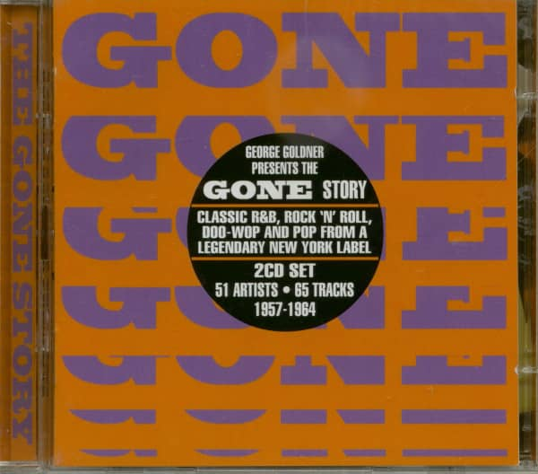 The Gone Story - George Goldner Presents (2-CD)