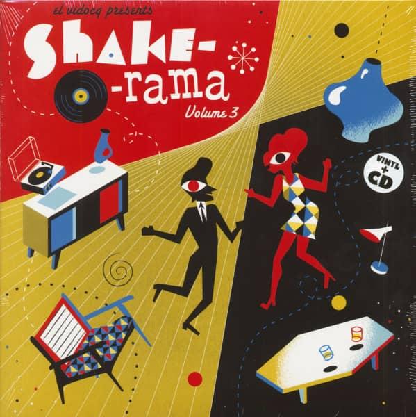 Shake-O-Rama Vol.3 (LP & CD)