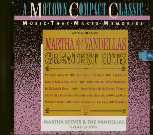 Martha Reeves & The Vandellas - Greatest Hits (CD)