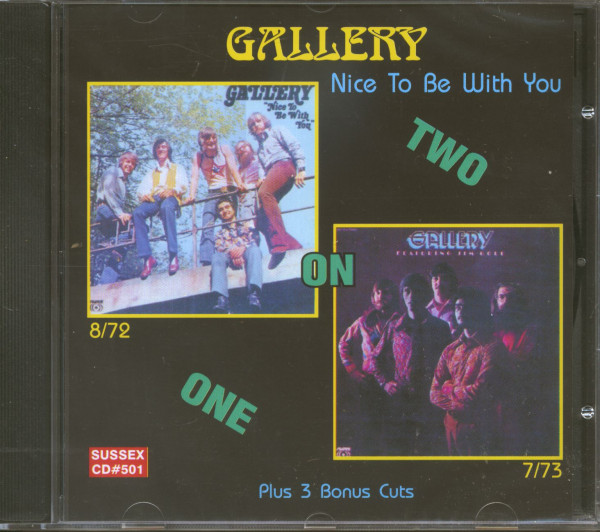 Jim Gold & Gallery - Nice To Be With You (CD)