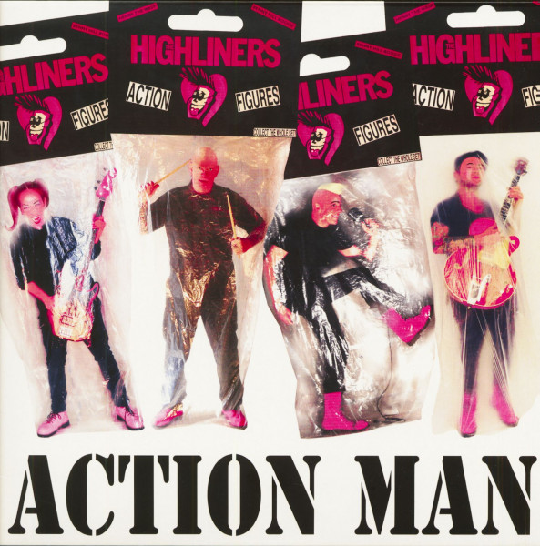 Action Man (LP, Pink Vinyl, Ltd.)