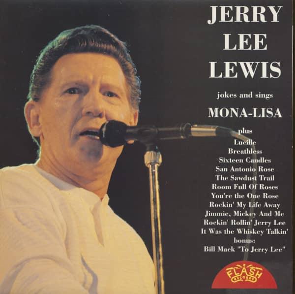 Jerry Lee Lewis Jokes & Sings (LP)